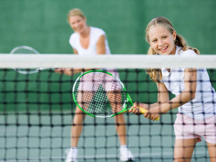 my favorite hobby tennis