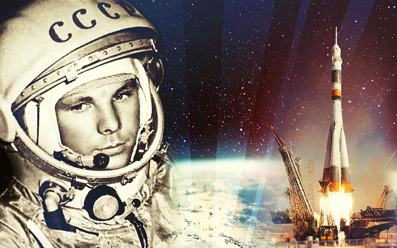 Картинки по запросу 1961 -Впервые человек совершил полет в космос.