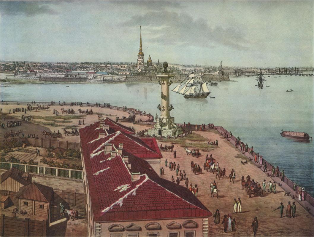 В мае 1712 года, Пётр I перенёс столицу России из Москвы в Санкт-Петербург в 2019 году