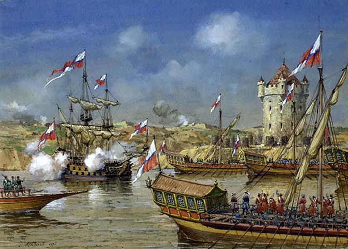 29 июля 1696 года – русскими войсками взята турецкая крепость Азов