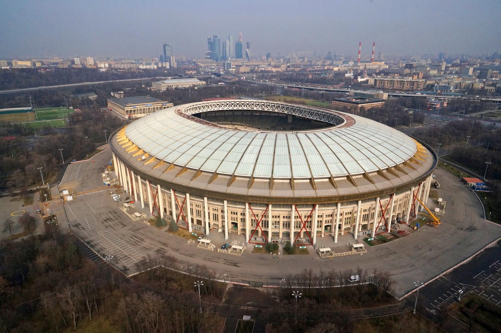 Ən böyük idman arenası olan stadion yanır