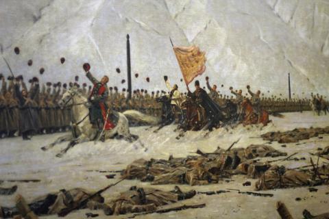 победы русских войск под руководством александра невского относятся к
