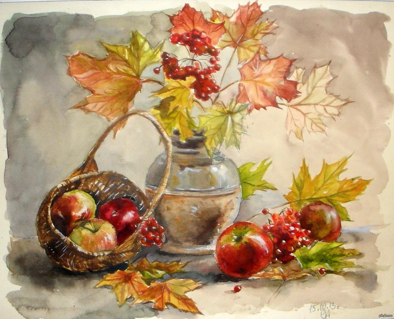 Осенний букет картинки рисунки